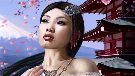 wallpaper dinding female daily daily desktop wallpapers amazing 3d girls wallpapers