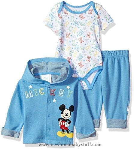 Hoodie Mickey Boy Cloth baby boy clothes disney baby boys mickey mouse 3 hoodie bodysuit or t shirt pant set