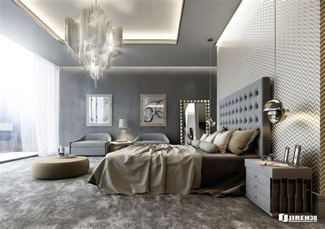 contemporary classic vrayforc4d scene files modern classic bedroom scene on