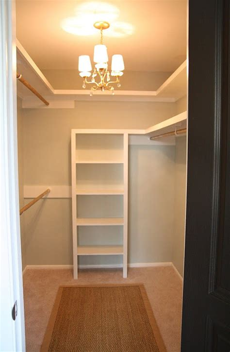 Diy Small Walk In Closet Ideas by