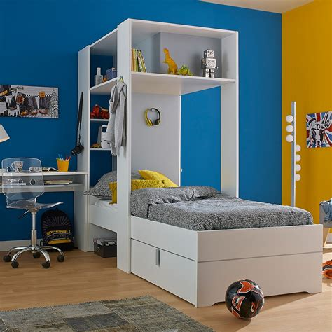 collection of overhead bed bedroom kids beds with storage 2017 babel kids bed with amazing storage in white and grey