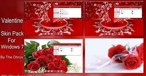 valentine themes for windows 10 valentine skinpack for windows 7 windows10 themes i