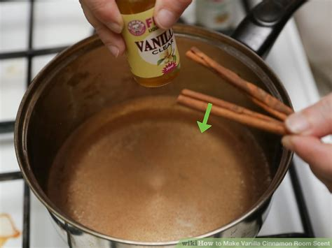 cinnamon room scent 3 ways to make vanilla cinnamon room scent wikihow