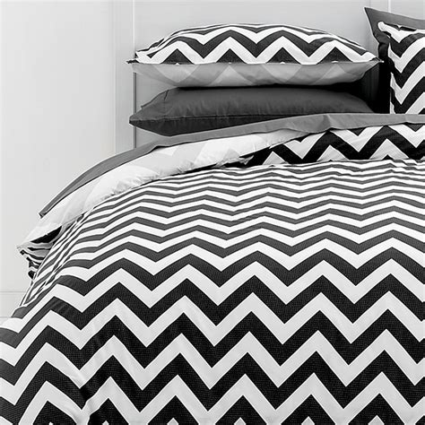 target chevron bedding modern ryder quilt cover set with chevron stripes from
