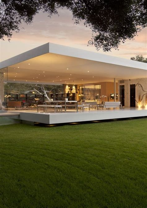 Moderne Pavillons by Minimalist House Pavilion And The Glass On