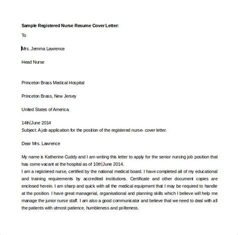 Registered Resume Cover Letter Template Sle Resume Cover Letter Template 7 Free Documents In Pdf Word