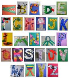 letter of the week crafts abc crafts alphabet crafts