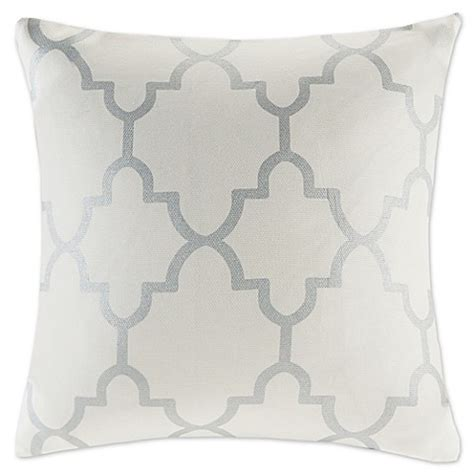 bed bath and beyond saratoga madison park saratoga 20 inch square decorative pillow