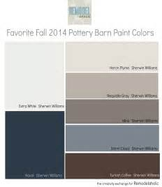 pottery barn paint colors remodelaholic favorites from the fall pottery barn paint
