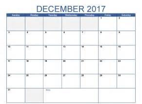 Calendar 2017 December Uk December 2017 Calendar Uk Printable Template With Holidays