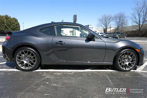Subaru Brz With 18in Tsw Nurburgring Wheels Exclusively