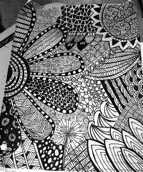 abstract doodle drawing zentangle abstract doodle i found this stuff random
