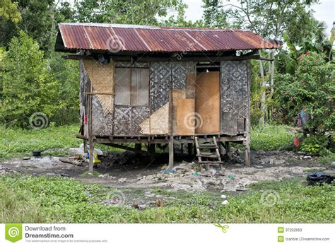 hovel shanty shack in philippines stock photos image