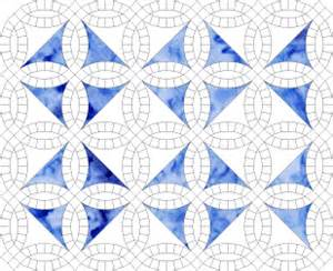 wedding ring quilt pattern templates wedding ring quilt templates