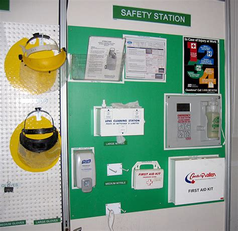 Display Safety Work Apparel On Showroom Floors - personal protective equipment signs visual workplace inc