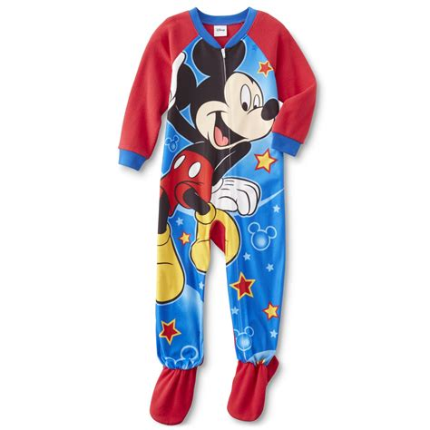 Mickey Pajamas disney baby mickey mouse infant toddler boy s fleece