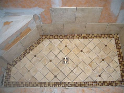 Mosaic Bathroom Floor Tile Ideas by Mosaic Tile Shower Floor Houses Flooring Picture Ideas