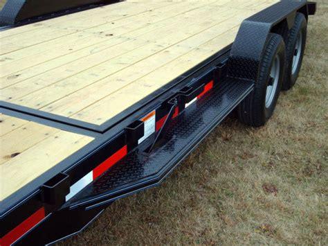 tilt bed trailer 7 ton equipment gravity tilt bed trailer johnson trailer co