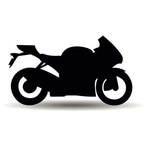 Motorrad Silhouette by Motorrad Silhouette Vektor Download Bei Vectorportal