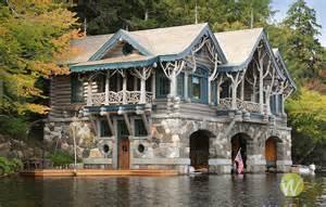 merriweather post estate stone boathouse upper saint regis lake ny terry wild stock