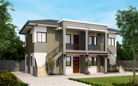 apartment style house design apd 2013001 pinoy eplans modern house designs small