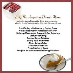 Ideas For Thanksgiving Dinner Menu Thanksgiving Dinner Ideas Menu Images Amp Pictures Becuo