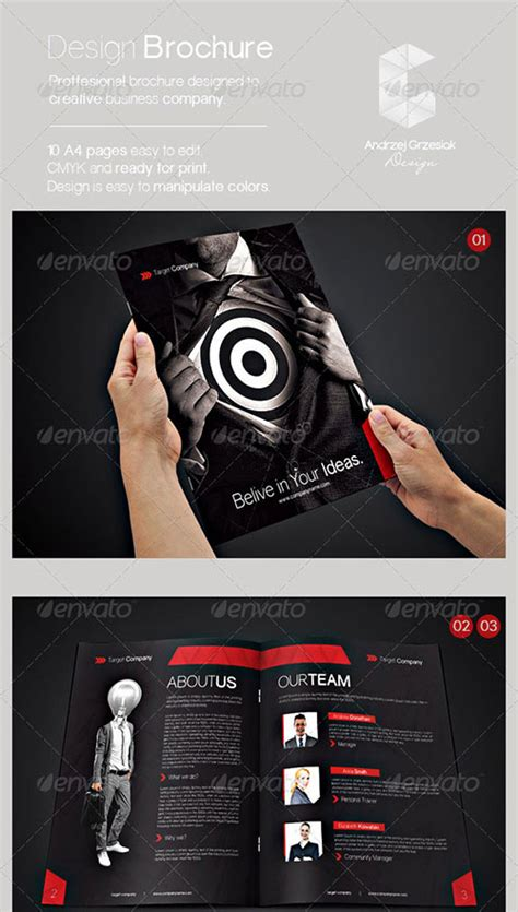 30 Awesome Indesign Brochure Templates Photography Portfolio Template Indesign Free