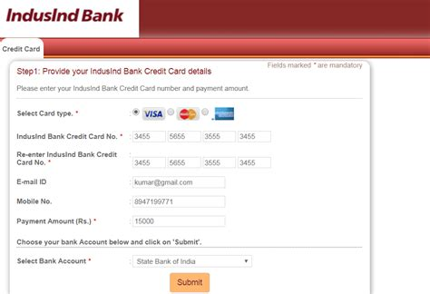 Indusind Bank Letter Of Credit 3 ways to pay your indusind credit card bill