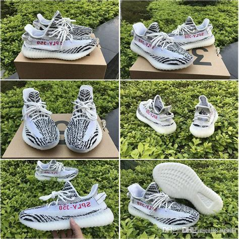 Adidas Yeezy 350v2 Zebra Real Pic Quality Pk Made In China 2017 2017 adidas yeezy 350 boost v2 zebra cp9654 releases running shoes sneakers sply yeezys