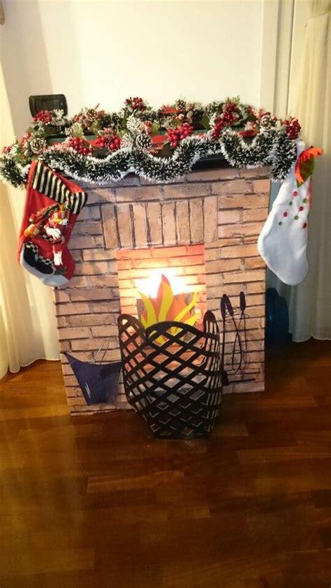 come si costruisce un camino ciao a tutti ho creato un caminetto di cartone e carta