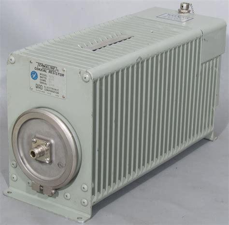 jual resistor dummy load bird 8251 1kw termaline rf dummy load coaxial resistor used second surplus