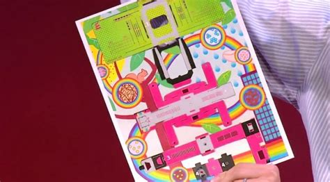 How To Make A Microscope Out Of Paper - manu prakash a 50 cent microscope that folds like origami