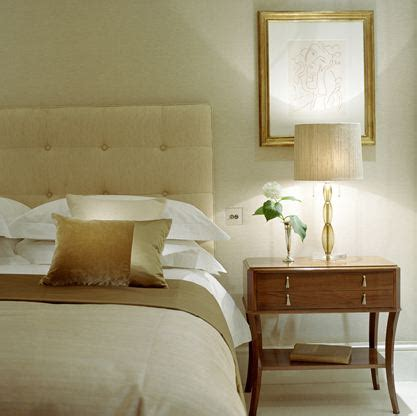 beige and green bedroom cream headboard traditional bedroom helen green design