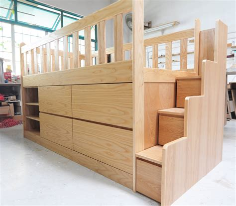 design your own loft bed loft bed with storage custom kids furniture in singapore