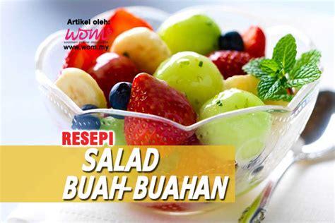 buat salad buah untuk diet resepi salad buah untuk diet images