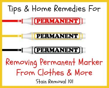 removing permanent marker from clothes more tips home