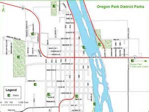locations oregon park district