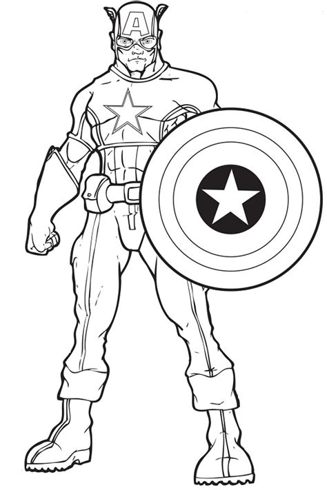 avengers cartoon coloring pages 15 printable pictures of avengers page print color craft