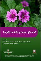 universitalia libreria la filiera delle piante officinali universitalia libro