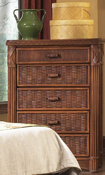 5 great exotic bedroom furniture ideas that you can share 6 wicker rattan dressers for your tropical home cute