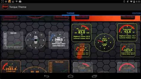 themes for android of cars vectors theme for torque obd 2 car android youtube