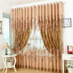 brown curtains for living room aliexpress com buy window curtain for living room