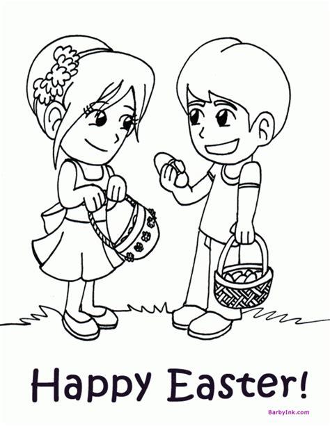 coloring pages easter egg hunt preschool easter coloring pages coloring home