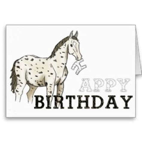 printable birthday cards horses free happy birthday rudy police forums law enforcement