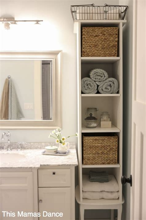 white bathroom vanty cabinet cottage style this - Bathroom Storage Design