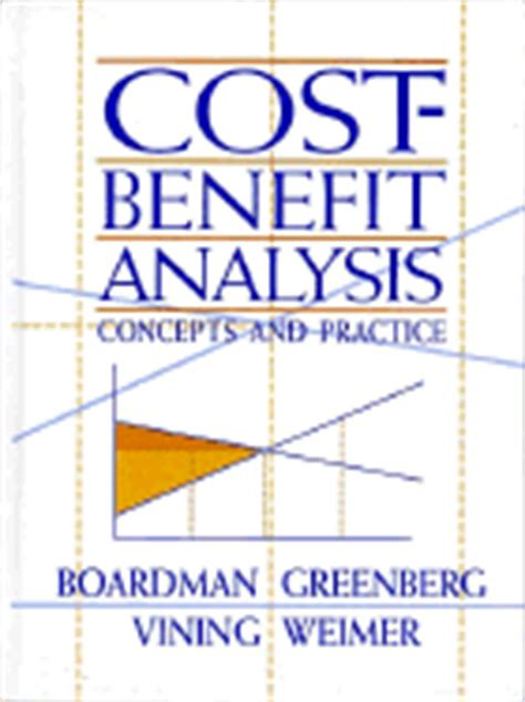cost benefit analysis concepts and practice books finance and policy book by jonathan gruber
