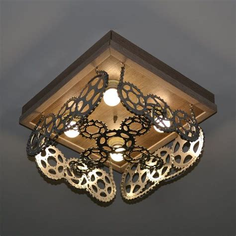 Recycled Light Fixtures 302 Best Images About Recycle Light Fixtures On Pinterest Steunk L Repurposed And