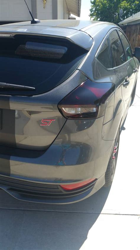 2015 focus st tail light tint lets see pics of your tinted tail lights page 24