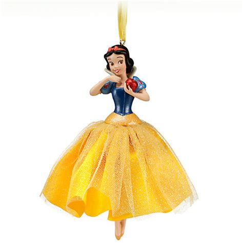 Snow White Ornaments - 2012 snow white the seven dwarfs sketchbook princess