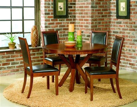 elegant round dining room tables decosee circular chair